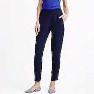 J. Crew Drapey Pull-on Pant in BLACK Size 6